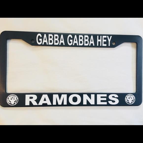 Accessories | Ramones License Plate Frame | Poshmark